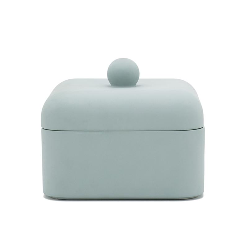 Nika Zupanc for Sé - Whisper Box - Grande - Satin Vintage Green