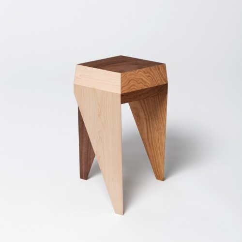 Alvaro Catalan de Ocon - Rayuela Solidwood stool