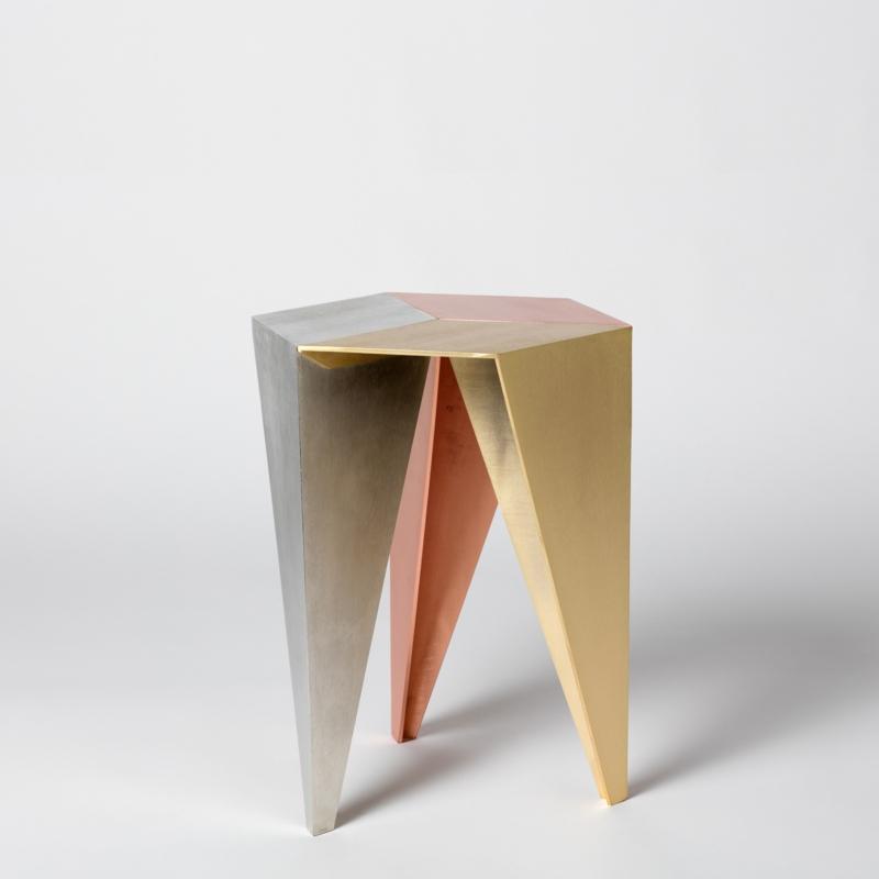 Alvaro Catalan de Ocon - Rayuela 3 metals stool