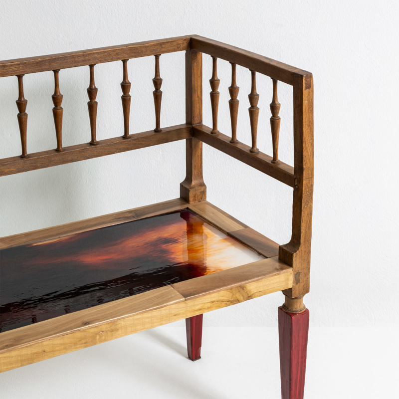 Hillsideout - Liquid colour bench