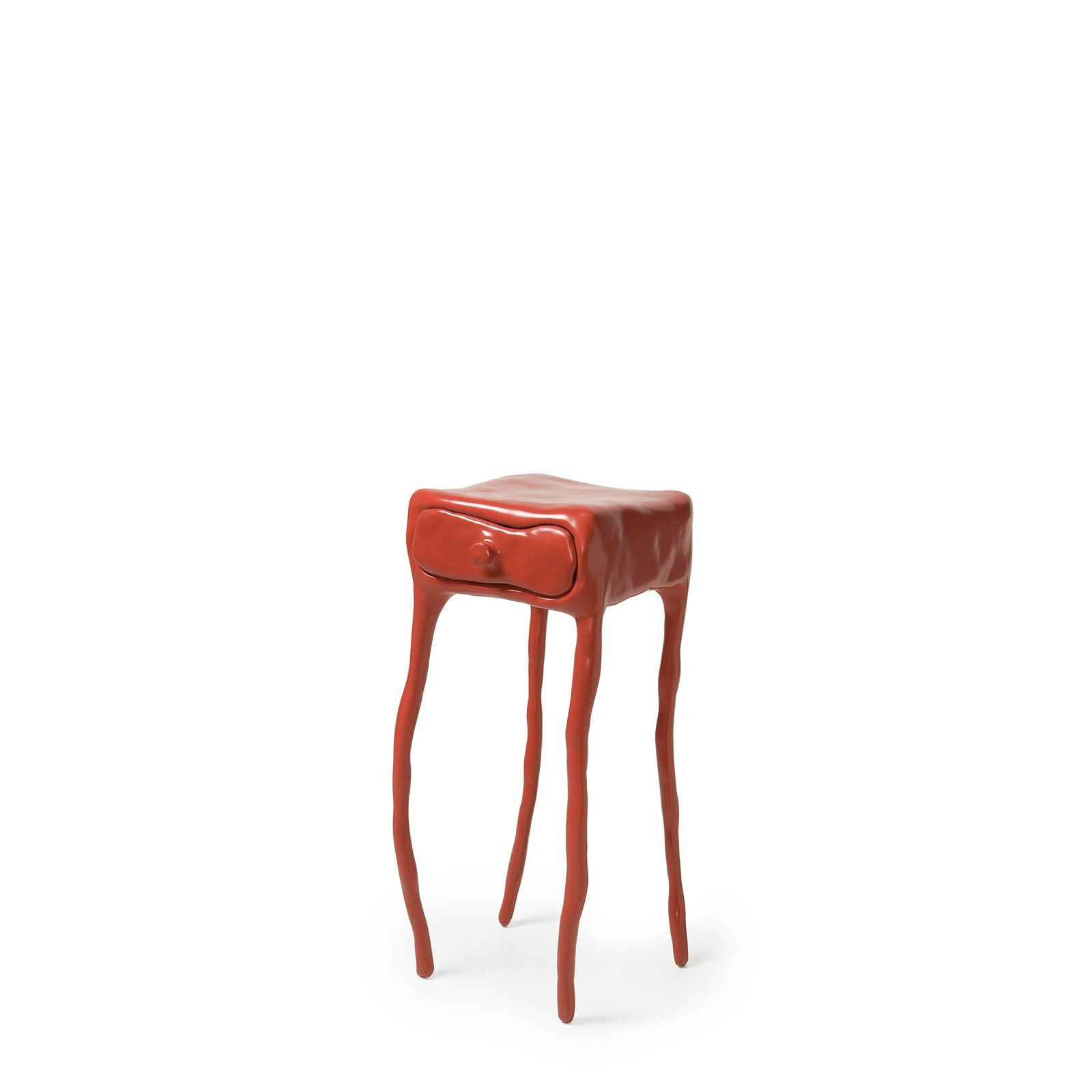 Maarten Baas - Clay Table with Drawer - Red
