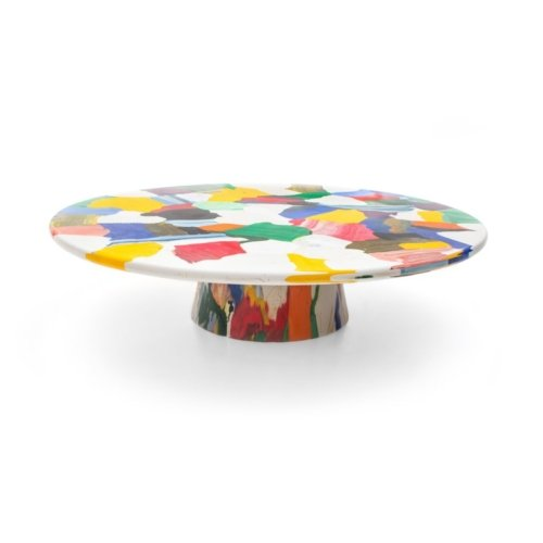 Dirk Vander Kooij - Meltingpot multichrome coffee table Ø 120