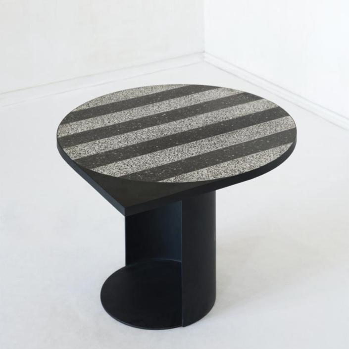 Rooms - Magic stone stripy table