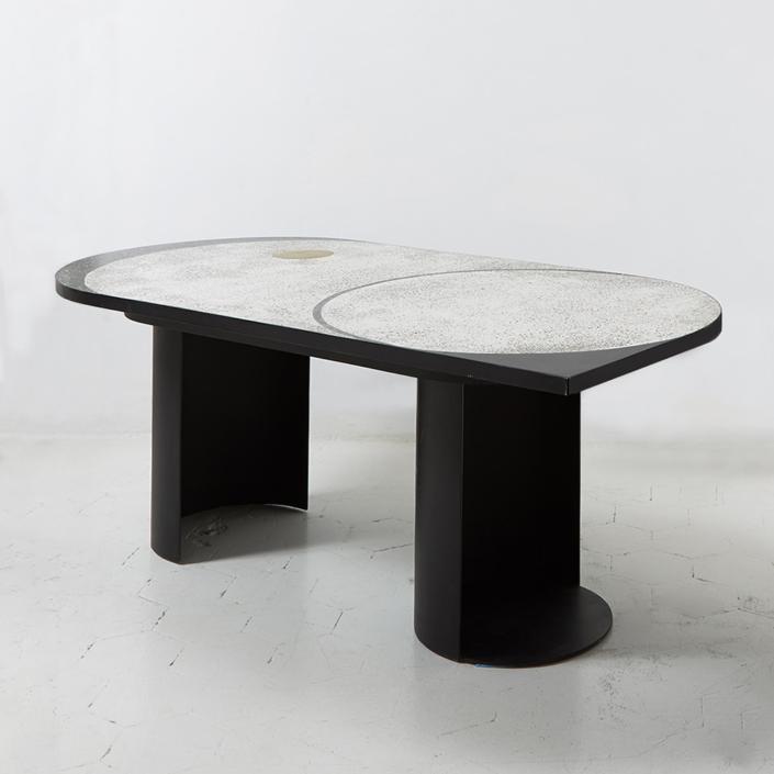 Rooms - Magic stone geometric table