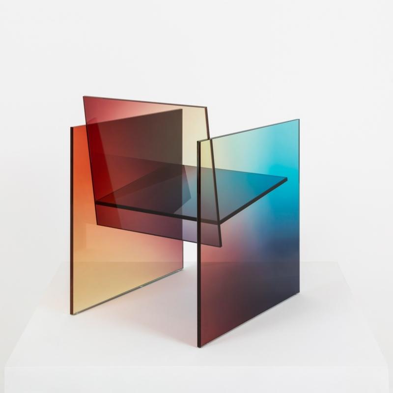 Germans Ermics - Ombré Glass Chair - 02
