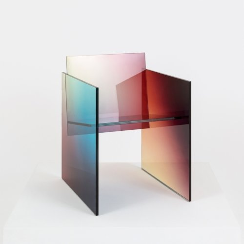 Germans Ermics - Ombré Glass Chair - 02