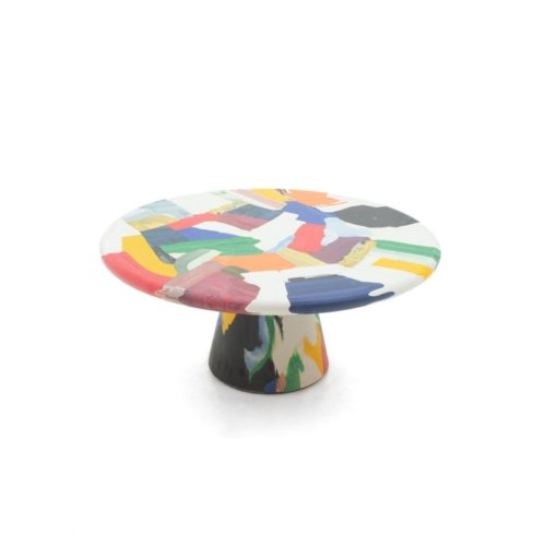Dirk Vander Kooij - Meltingpot multichrome coffee table Ø 60