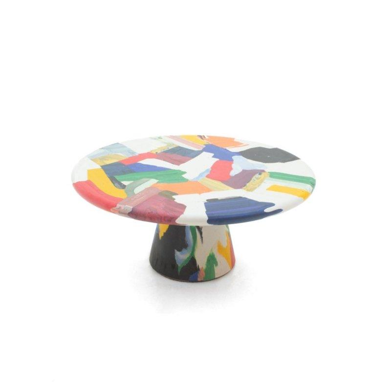 Dirk Vander Kooij - Meltingpot multichrome coffee table Ø 60