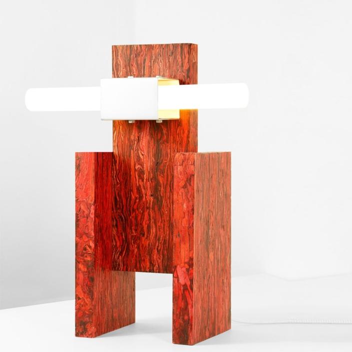 Jorge Penades - Structural Skin Lamp N. 02