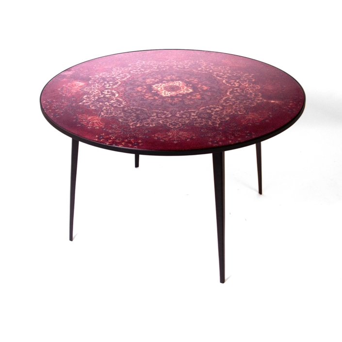 Ruben van Megen - Cafè 6116 dining table