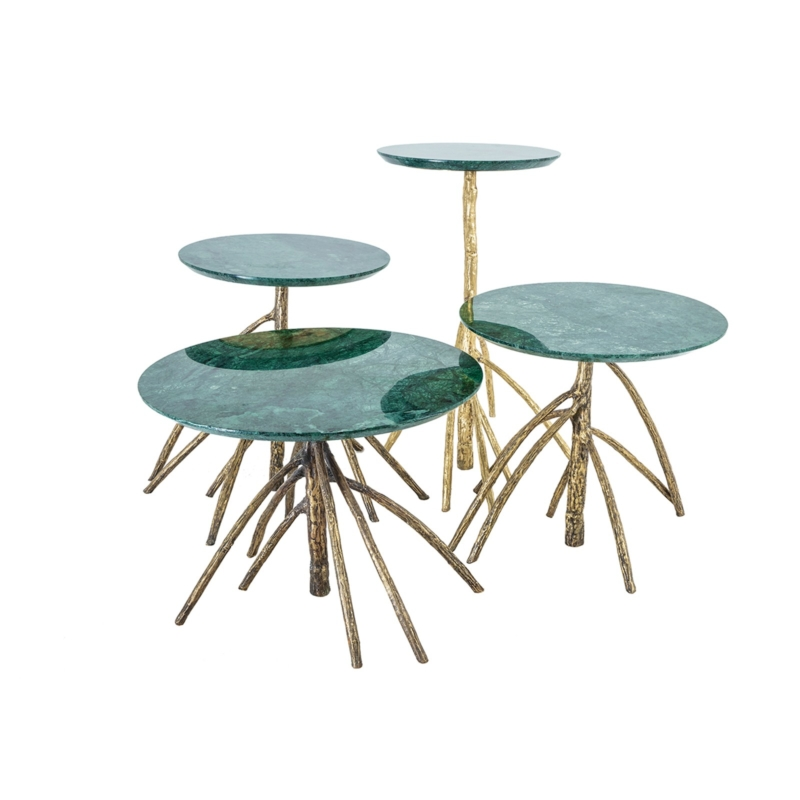 Cypraea - Mangrovia Low Table Bronze set