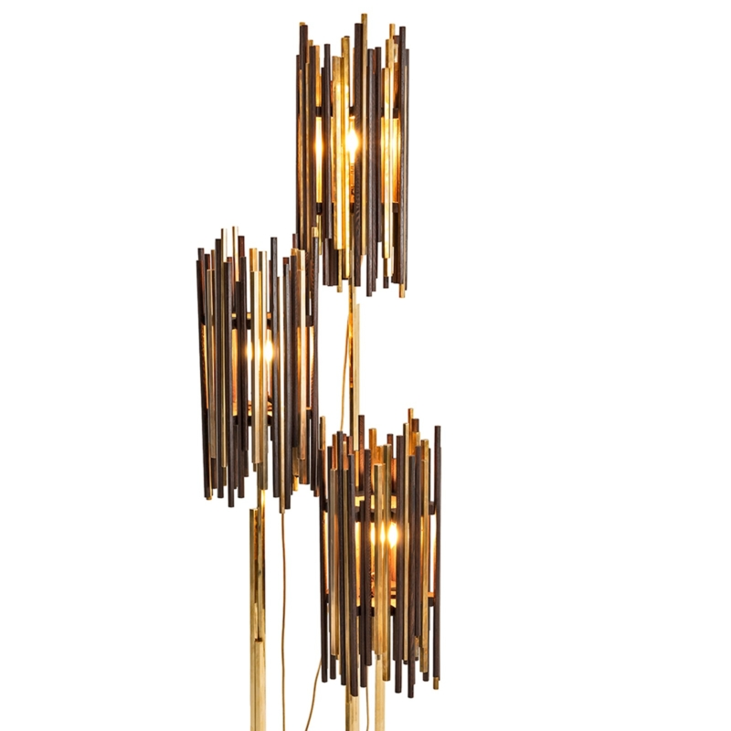 Cypraea - Rochester Floor Lamps Set in Wenge