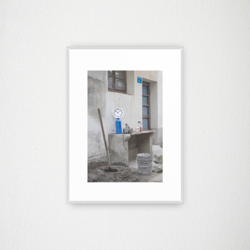 Studio OSOH - Time traveler - Blue bottle