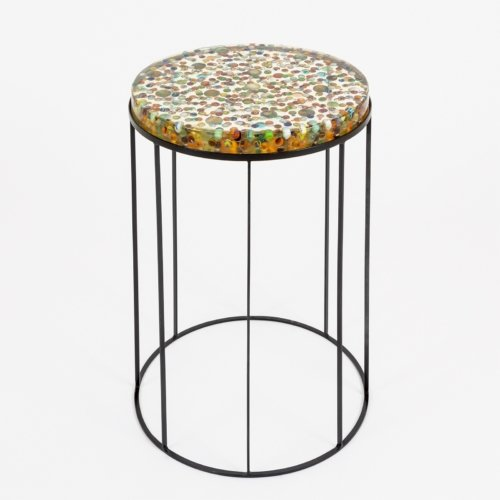 Manu Crotti - Biglie Side Table
