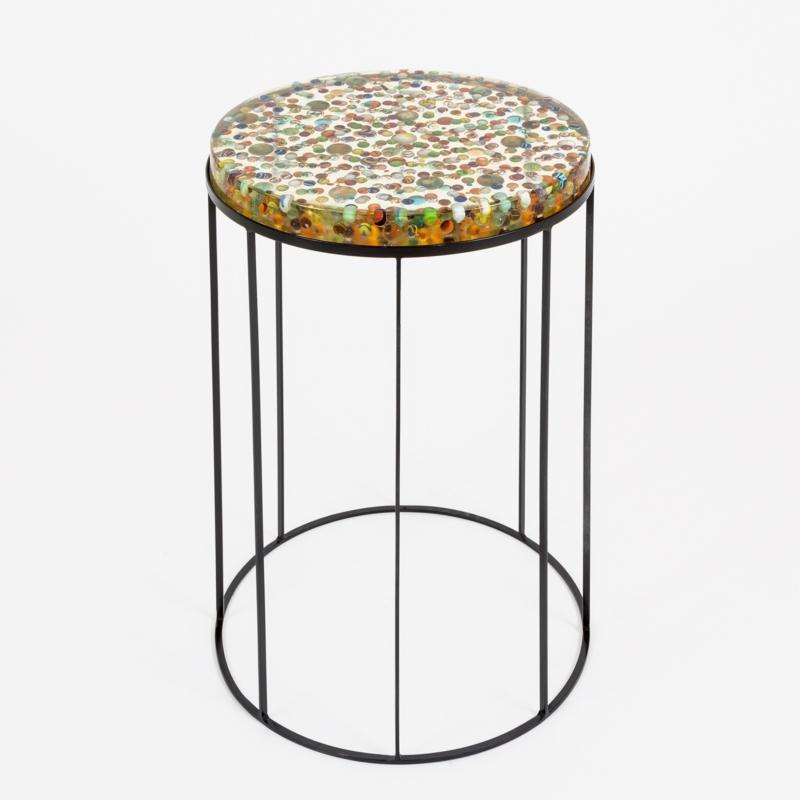Manu Crotti - Biglie Side Table