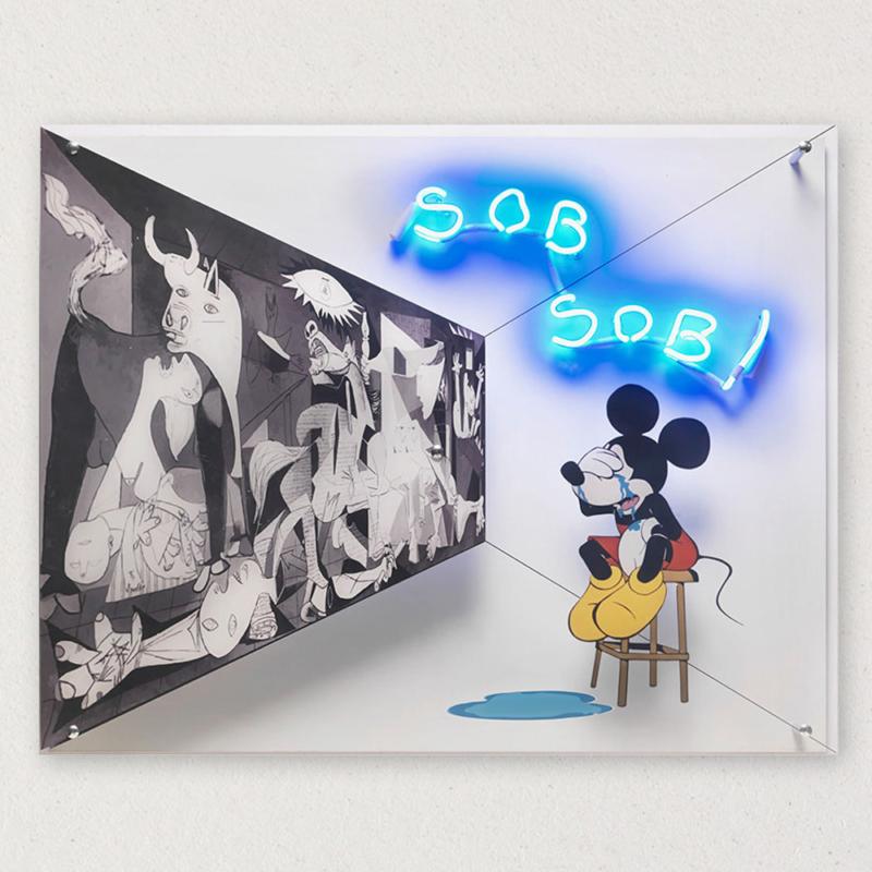 G+G - Sob sob / Guernica - Picasso / Topolino