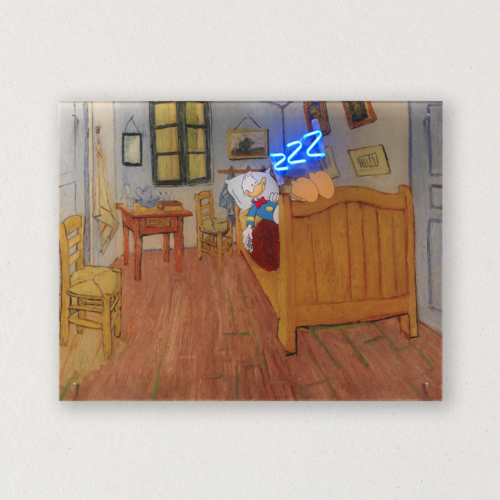 G+G - Zzz La camera di Vincent ad Arles - Vincent Van Gogh Paperino