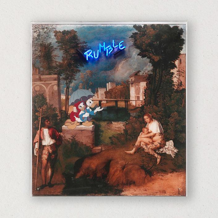 G+G - Rumble / Tempesta - Giorgione / Paperino - Paperina