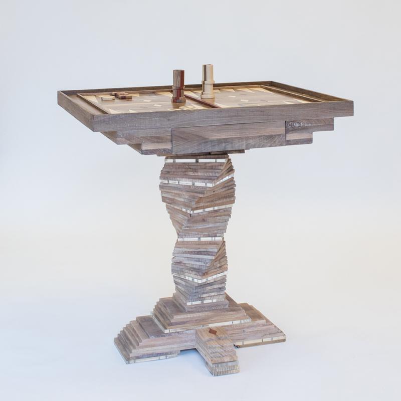 Hillsideout - Backgammon Tea Table
