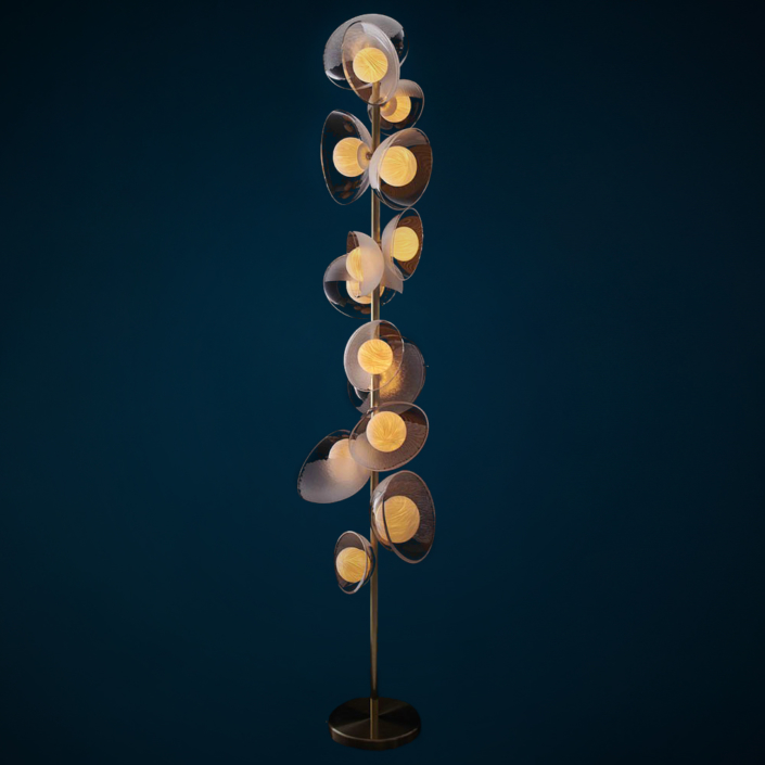 Vezzini & Chen - Mirage Floor Lamp