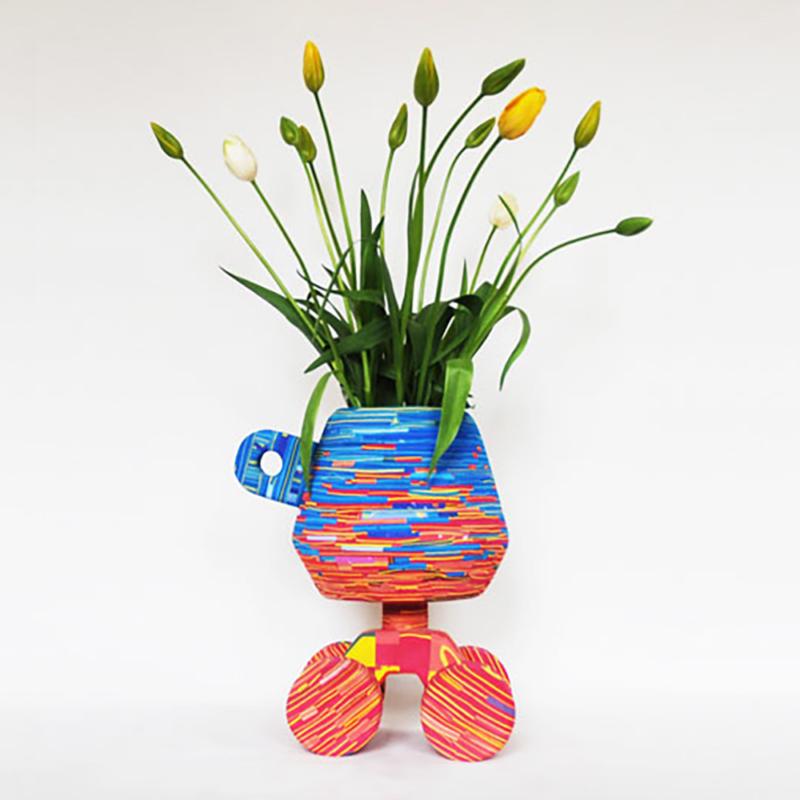 Diederik Schneemann - Flip Flop Tulip Vase