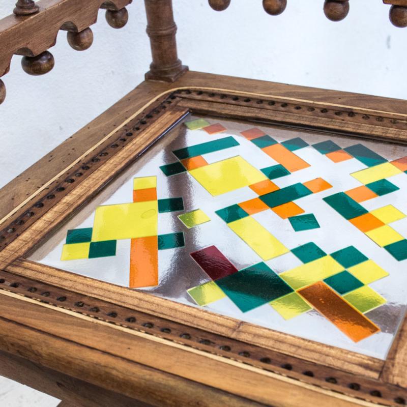 Hillsideout - Mosaiced Needlewoman Chairs