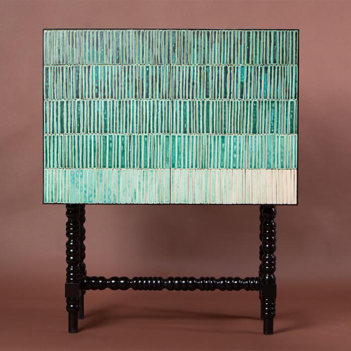 Milan Pekar - Gradien Cabinet - Turquoise