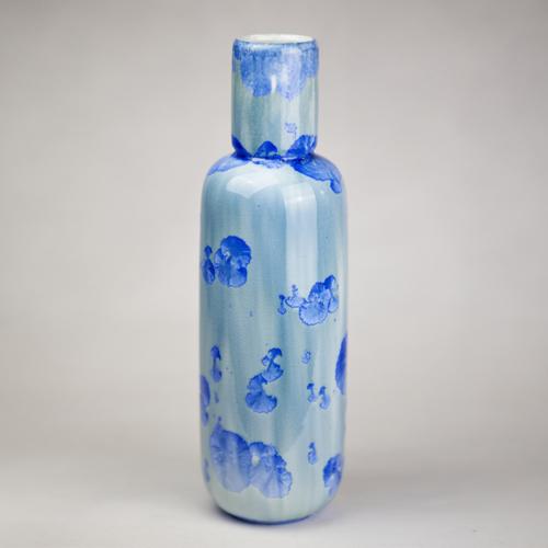 Milan Pekar - Tall Crystal Vase
