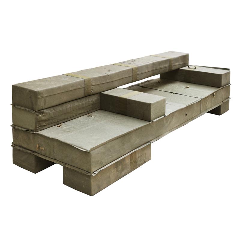 Piet Hein Eek - Chunky Upholstered Beam Bench