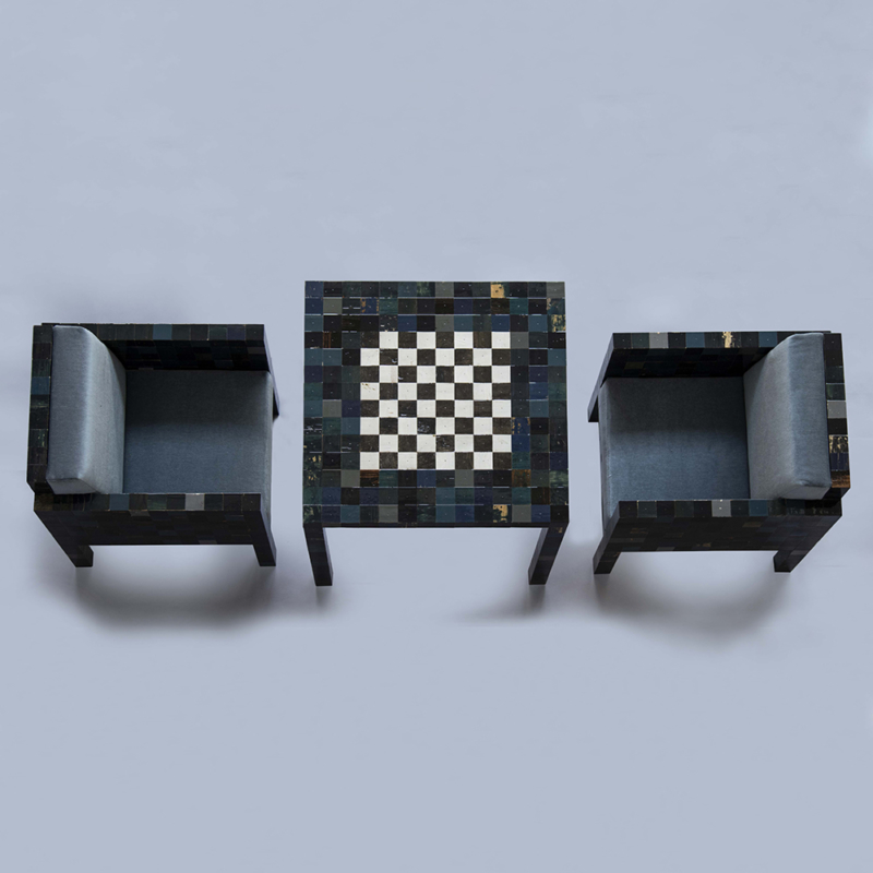 Piet Hein Eek - Waste waste different Chess Set