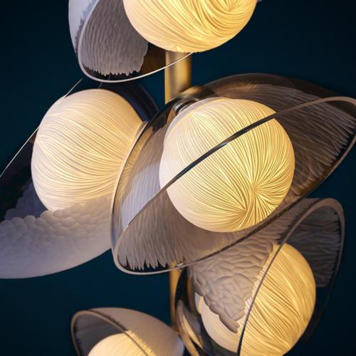 Vezzini & Chen - Mirage Light Chandelier