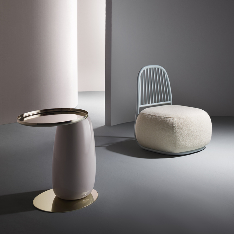 Ini Archibong for Sé - Eos Table Ceramic and Circe Armchair