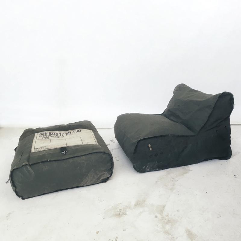 Piet Hein Eek - Bag Chair in Army Fabric