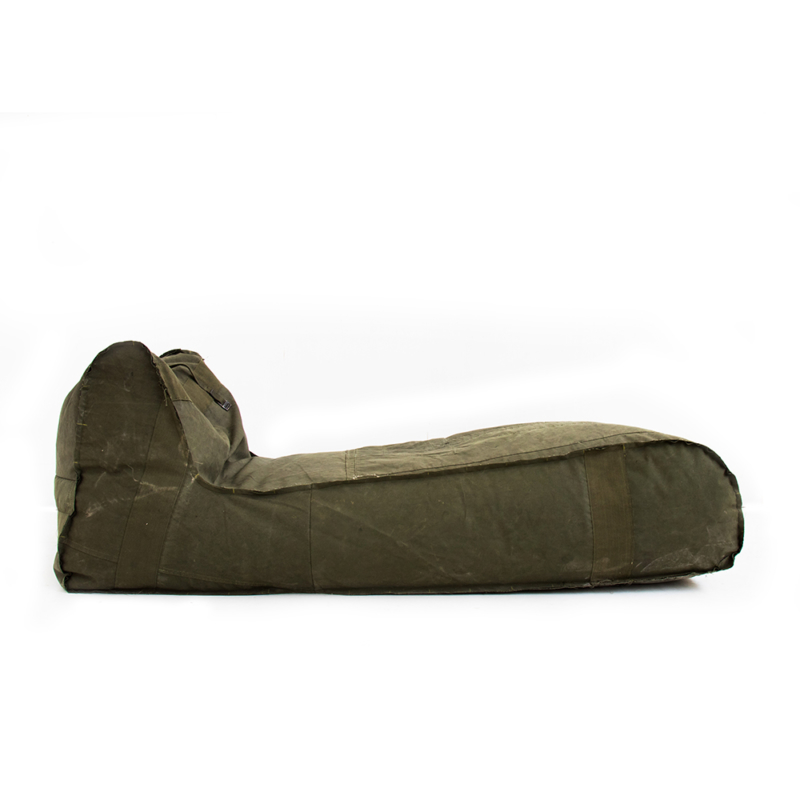 Piet Hein Eek - Long Bag Chair in Army Fabric