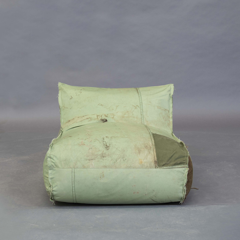 Piet Hein Eek - Bag Chair in Red Cross Fabric