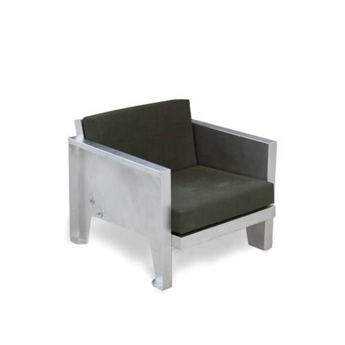 Piet Hein Eek - Outdoor Aluminium Low Seat