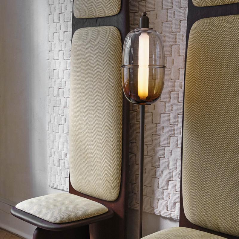 Ini Archibong for Sé - Moirai Floor Lamp and Atlas Desk Chair