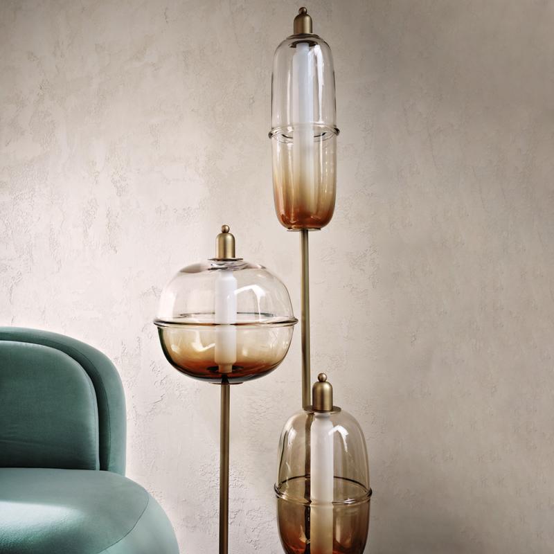 Ini Archibong for Sé - Moirai Floor Lamp Trio