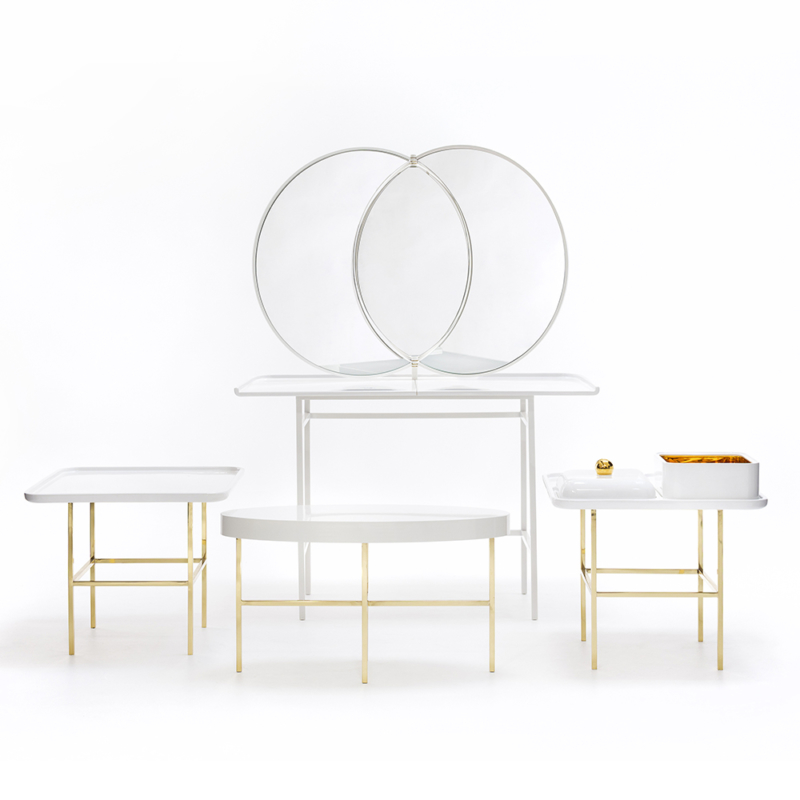 Nika Zupanc for Sé - Olympia Side Table and Dressing Table