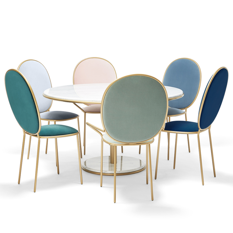 Nika Zupanc for Sé - Stay Dining Table 1m20 and Chairs