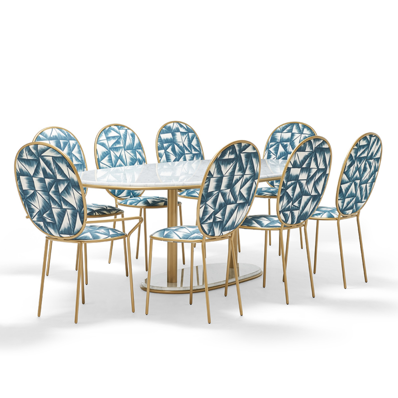Nika Zupanc for Sé - Stay Dining Table 2m20 and Chairs
