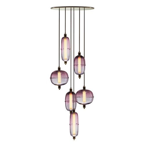 Ini Archibong for Sé - Moirai Chandelier - Vertical Drop