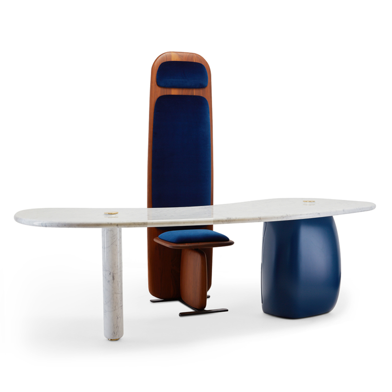 Ini Archibong for Sé - Atlas Desk and Desk Chair