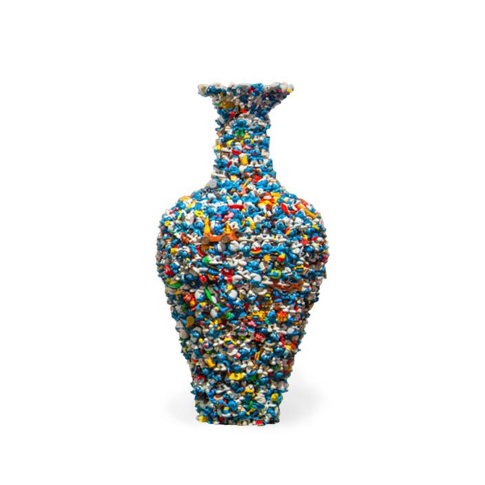 Diederik Schneemann - Smurf Vase