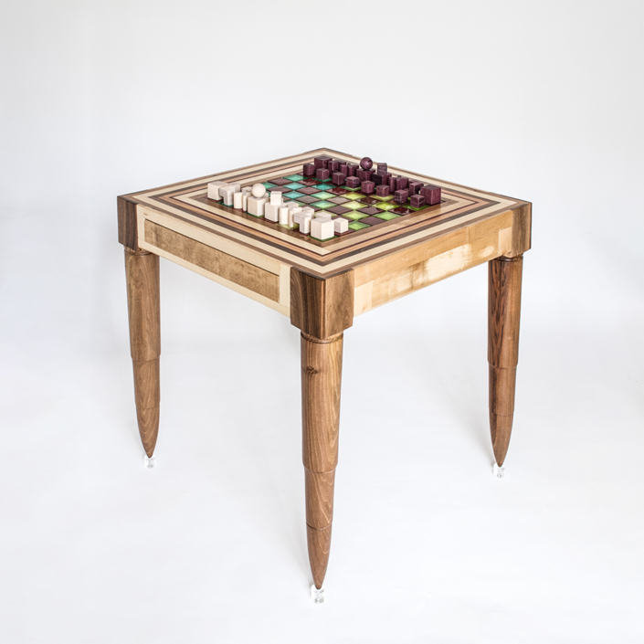 Hillsideout - Chaturanga Chess Table