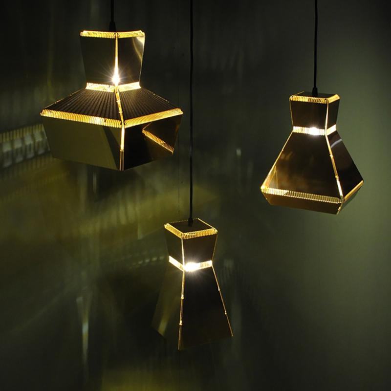 Piet Hein Eek - Handfolded Lamp 4, 5, 6