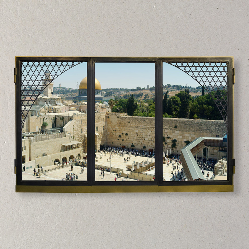 ANOTHERVIEW - ANOTHERVIEW No.18 A Sunday by the Western Wall