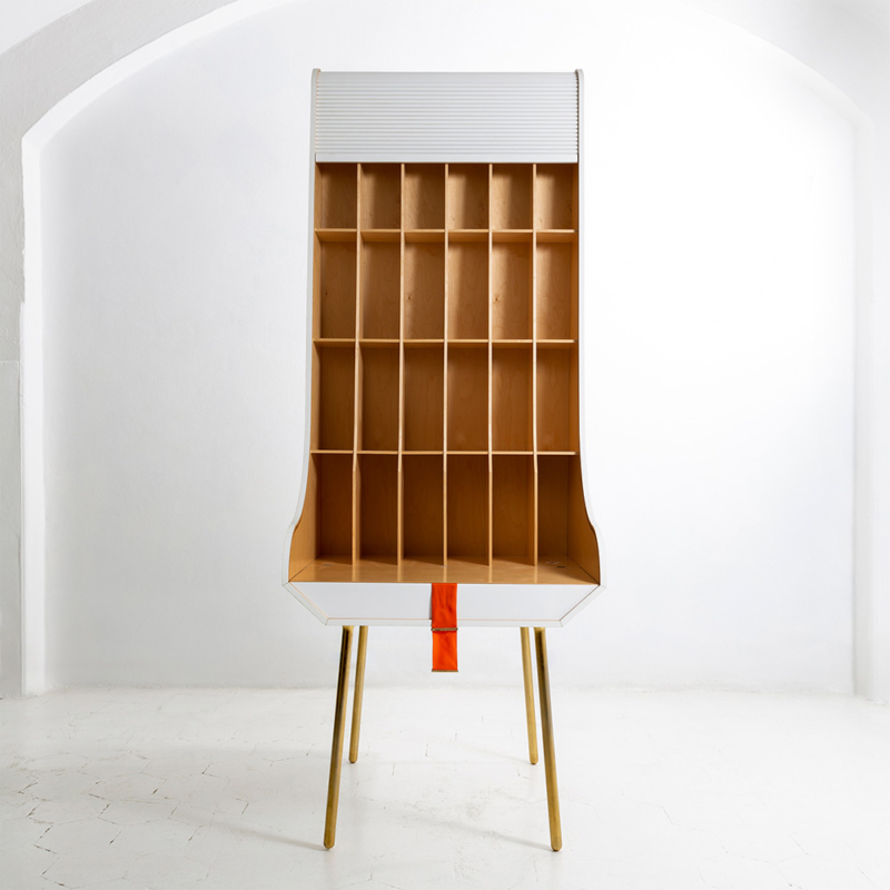 Nika Zupanc - Secretaria Desk - White