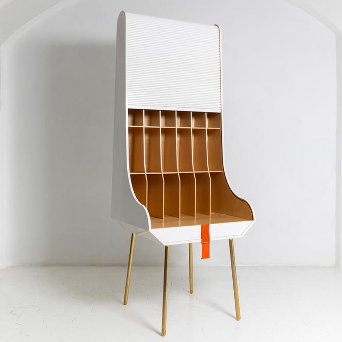 Nika Zupanc - Secretaria Desk - White