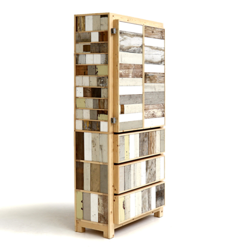 Piet Hein Eek - Classic Cupboard in Scrapwood